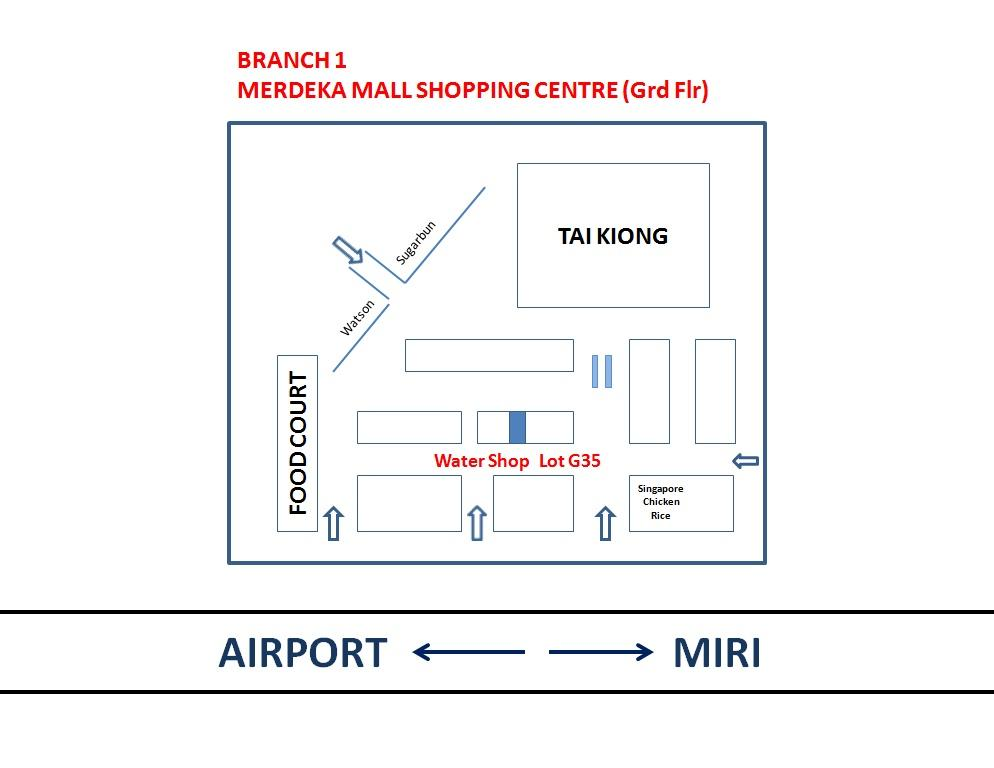 Branch 1 - Merdeka Mall