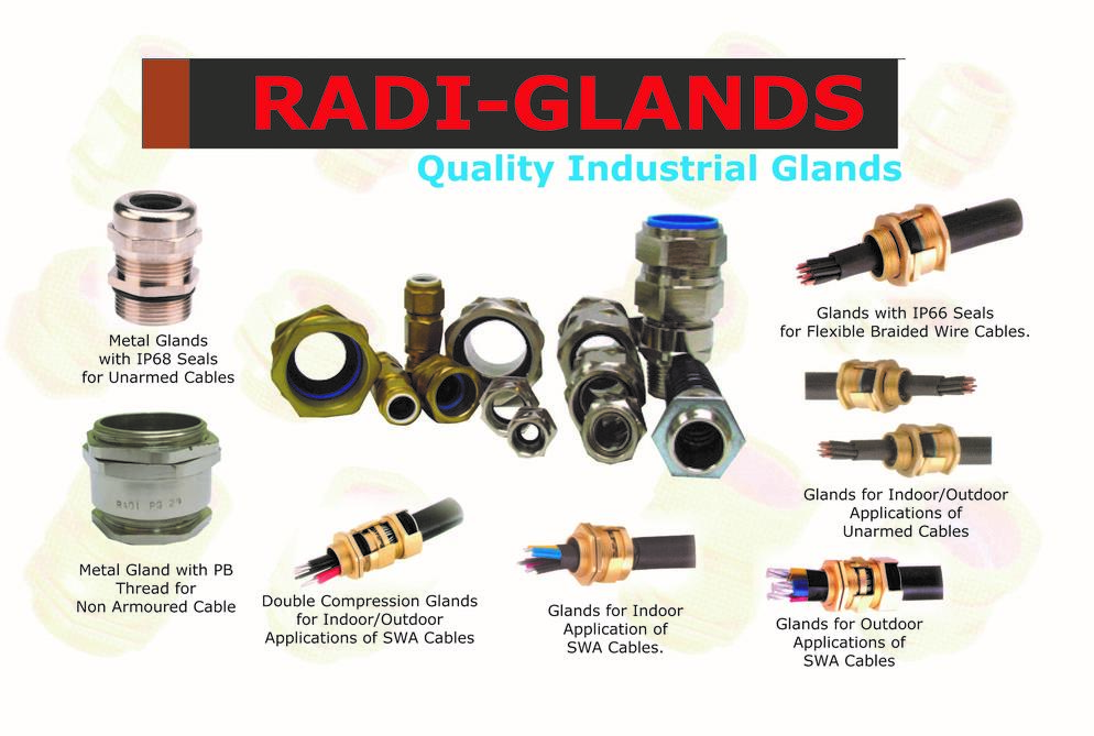 Radi Cw50l Cable Glands With Locknut Kabac Cable Acce