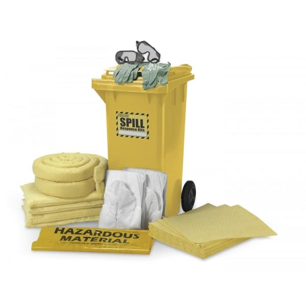 Chemical Spill Kit - 120L (Cart)