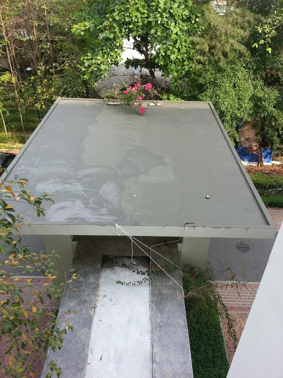 RC Flat Roof Waterproofing