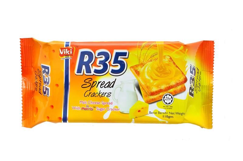 R35 Spread Crackers 110g - Cheese