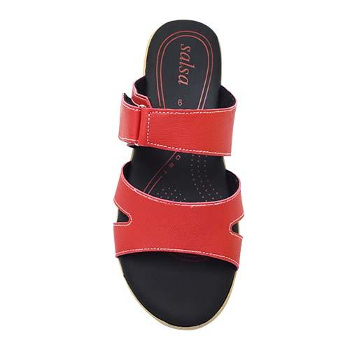 Salsa - Lady Comfort Shoe (47-6566 R) Red