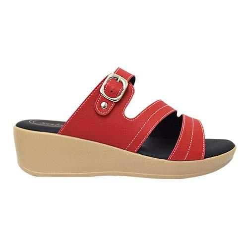 Salsa - Lady Comfort Shoe (47-6585 R) Red