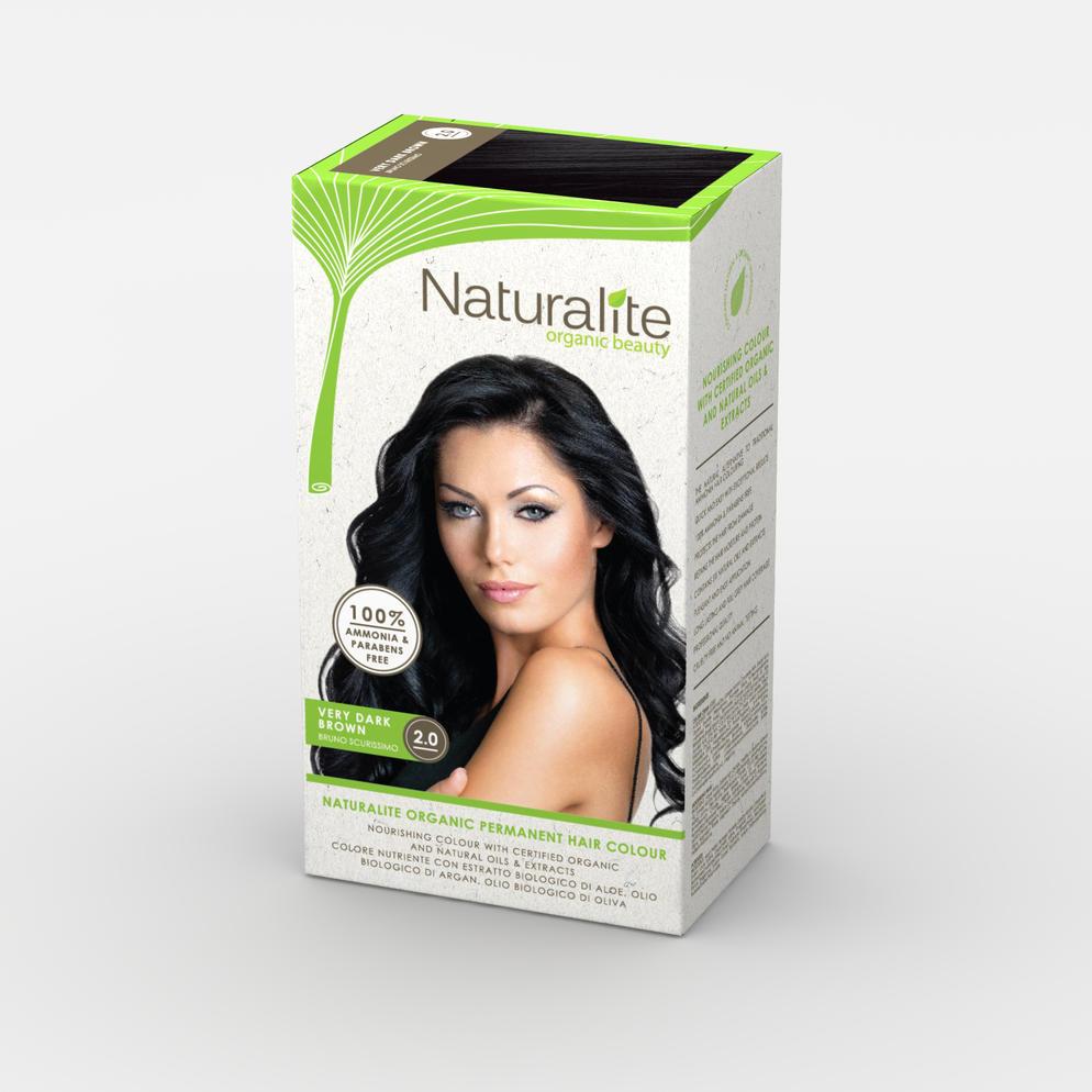 Naturalite Organic Beauty Permanent Hair Colours Hair D