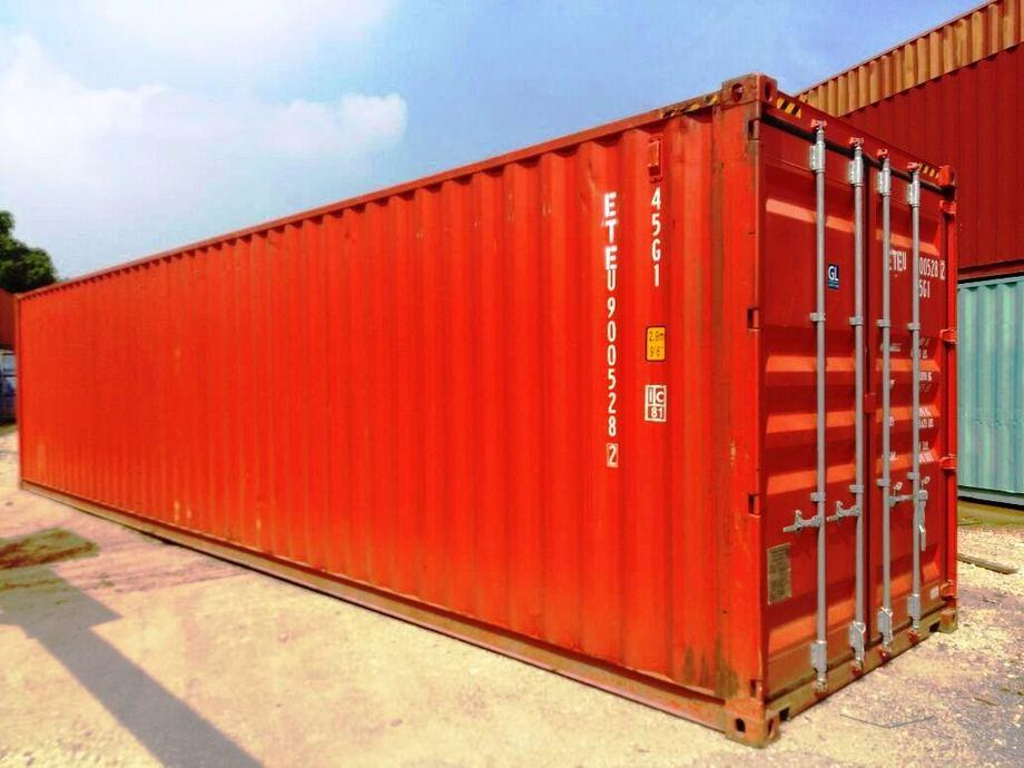 40HC standard container