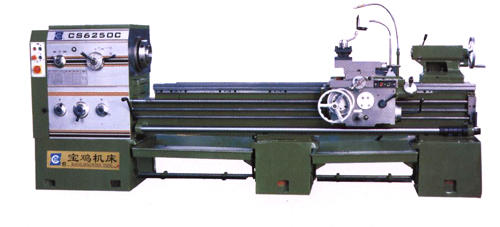 Horizontal Lathes With Big-Bore Spindle