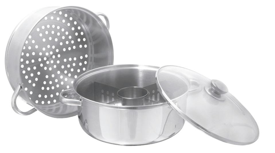 3 in 1 Cookware Set (Hollow Handles)