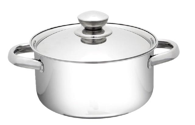 Saucepot with Stainless Steel Lid