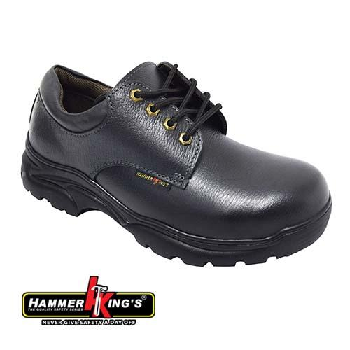HAMMER KING - SAFETY SHOE (HK 13008-BK) Black