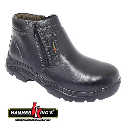 HAMMER KING - SAFETY SHOE (HK 13009-BK) Black