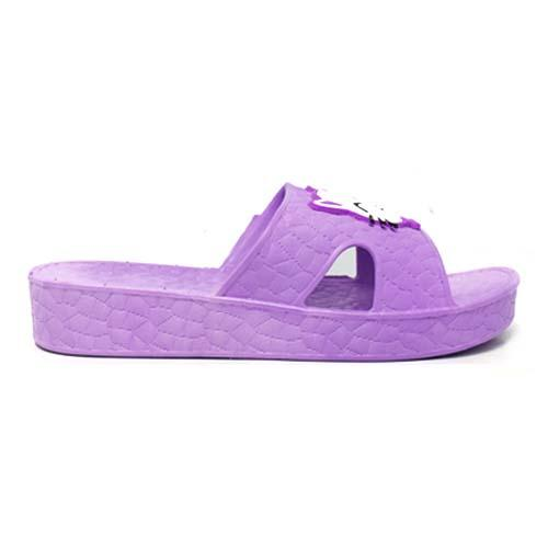 PVC Women Slipper (P 525-PR) Purple