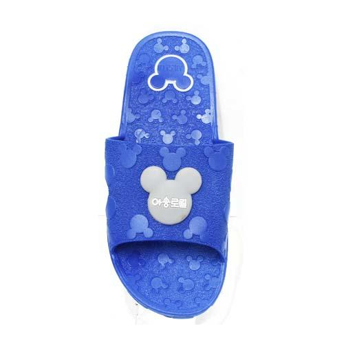 PVC Women Slipper (P 1702+2-B) Blue