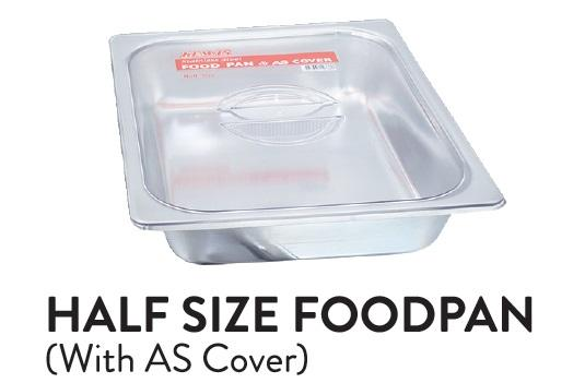 Half Size Foodpan (with AS Cover)