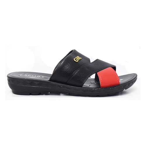 PVC Women Slipper (P 1735-BK) Black
