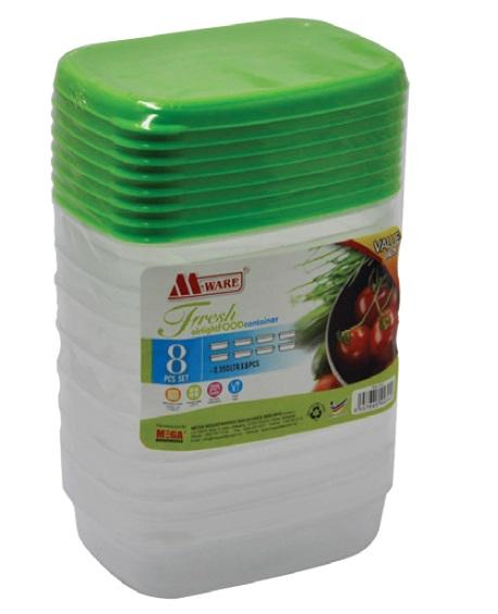 Fresh Air Tight Food Container 0.35LTR