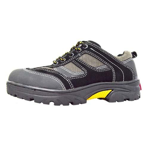Newmen - Men Safety Shoes (MS 6666-BK) Black