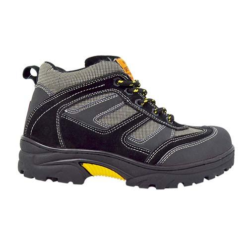NEWMEN - Men Safety Shoes (MS 8888-BK) Black