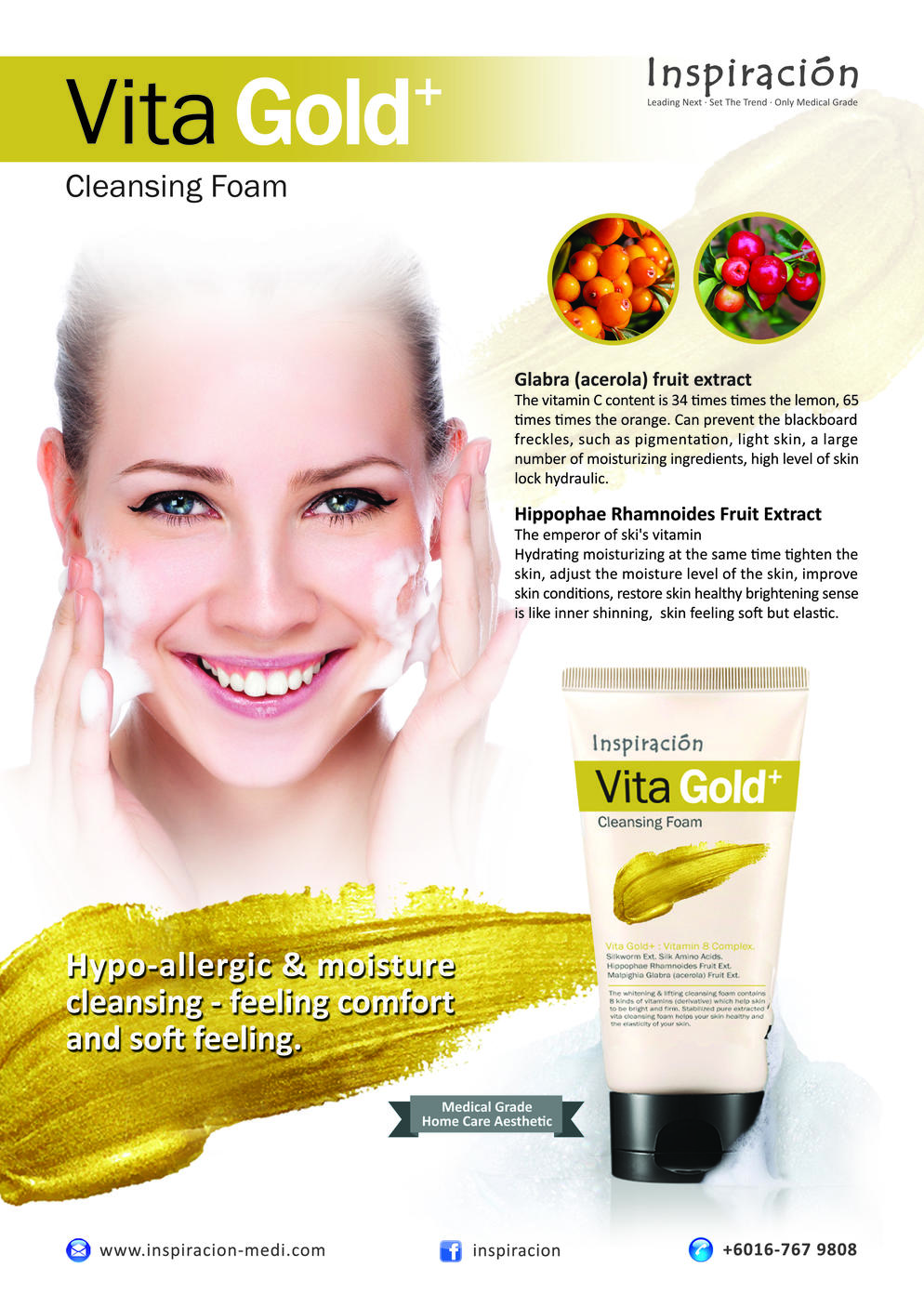 VITA GOLD+ Cleansing Foam
