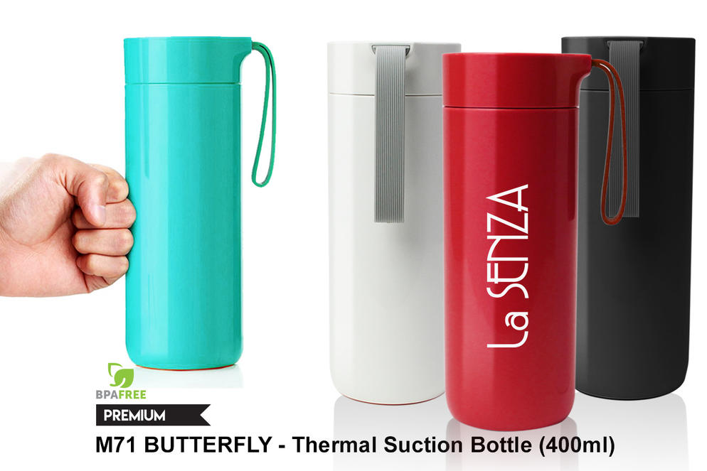 M75 Butterfly- Thermal Suction Bottle