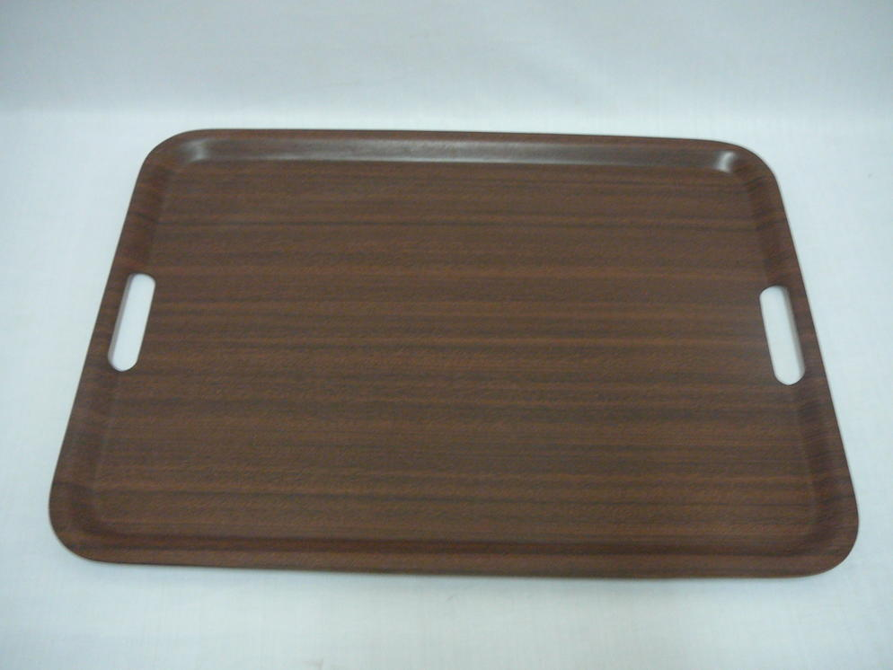 1010H Rectangular Tray(Mahogany)