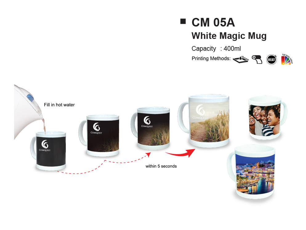 White Magic Mug CM05A