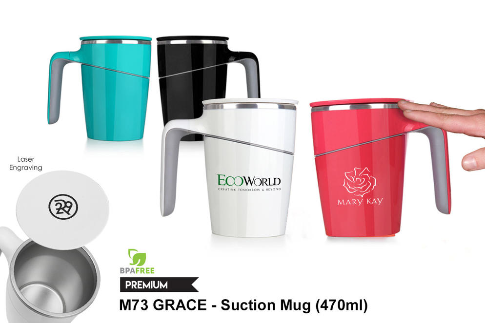 M73 GRACE - Suction Mug