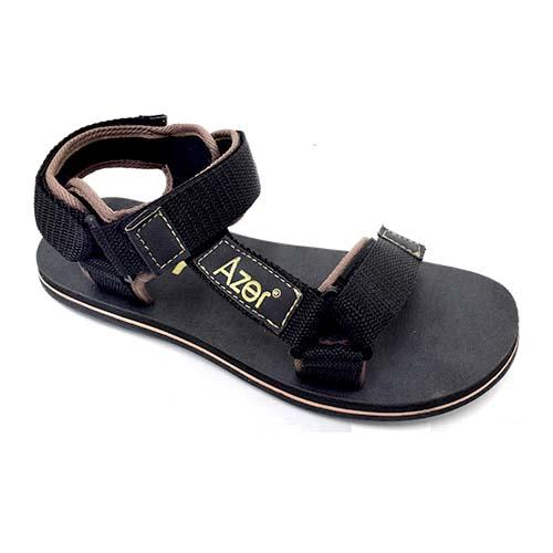 Azer - Men PP Tape Sandal (B 7070) Black