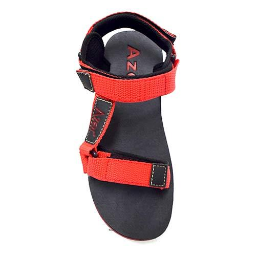 Azer - Men PP Tape Sandal (B 7070) Red