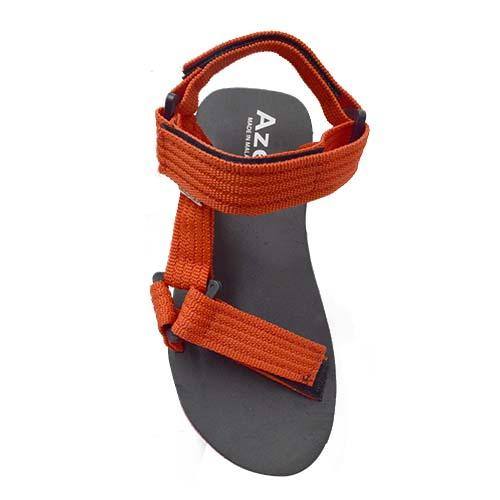 Azer - Kid PP Tape Sandal (B TS3012-1) Red
