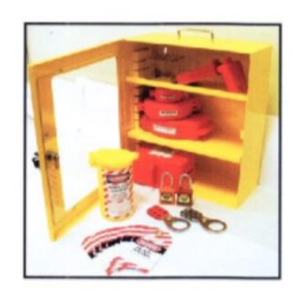Lockout / Tagout Steel Station