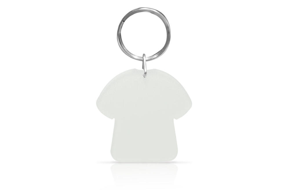KP08 (S)-T-Shirt Key Holder - Plastic (Solid colour)
