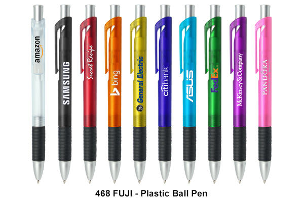 FUJI - Plastic Ball Pen (Black Ink)