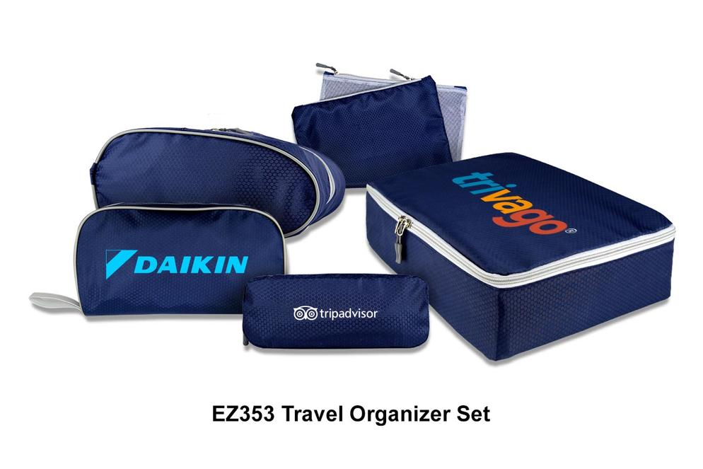 EZ353 Travel Organizer Set