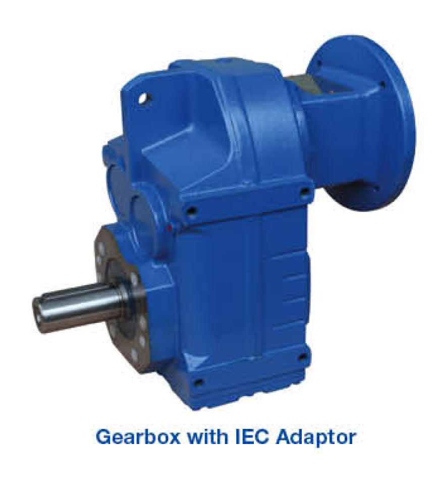 Gearbox - Output Shaft & IEC Adaptor