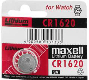 MAXBA001620 Maxell Battery CR1620