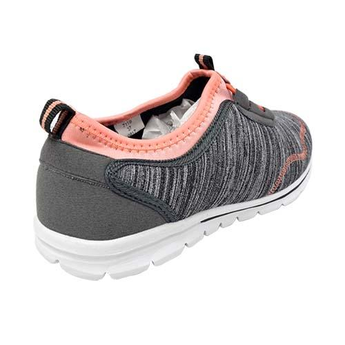Azer Sport Shoe (S 7119-GY/OR) Grey/Orange