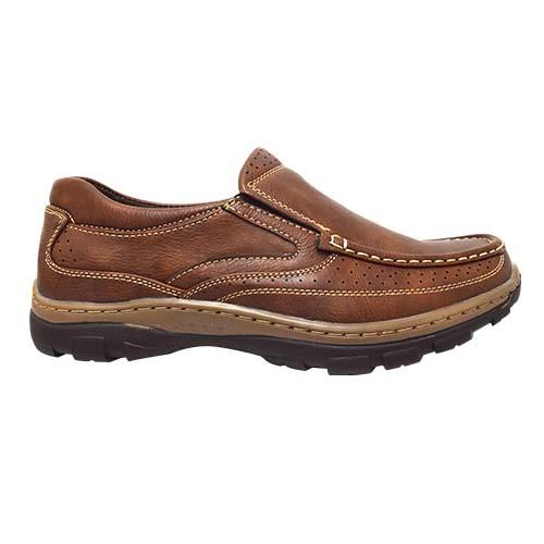 NEWMEN - Men Casual Shoe (MS 9200-RBN) Red Brown