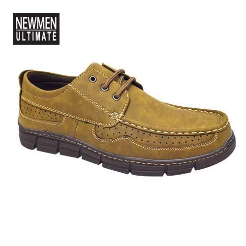 NEWMEN - Men Casual Shoe (MS 9201-KH) Khaki