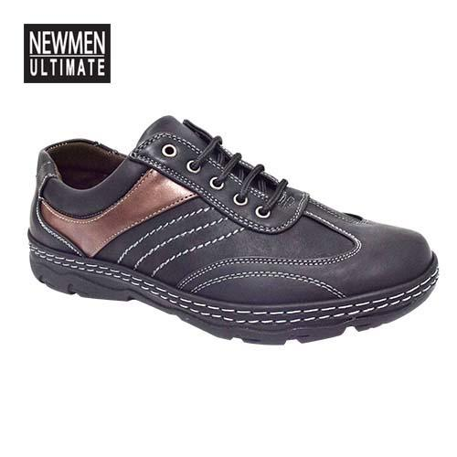 NEWMEN - Men Casual Shoe (MS 9203-BK) Black