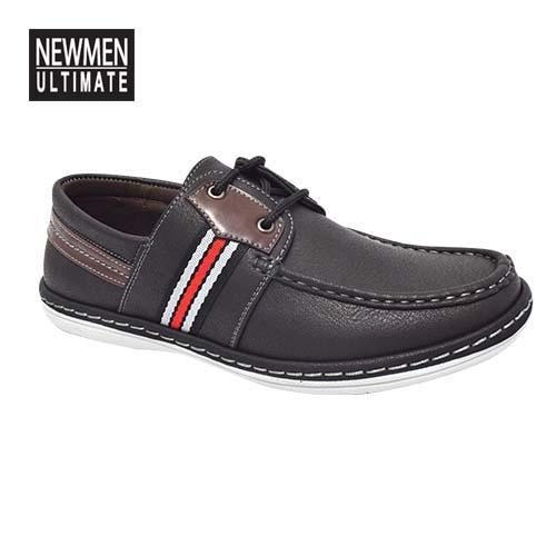 NEWMEN - Men Casual Shoe (MS 9205-BK) Black