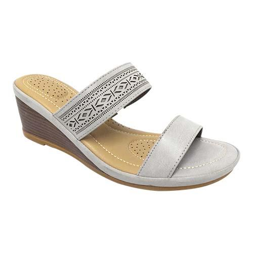 Azer - Ankle Strap Wedge Ladies shoe (90-720)
