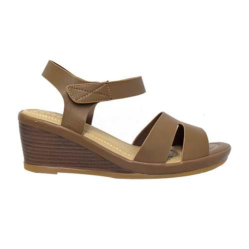 Azer - Ankle Strap Wedge Ladies shoe (90-721)