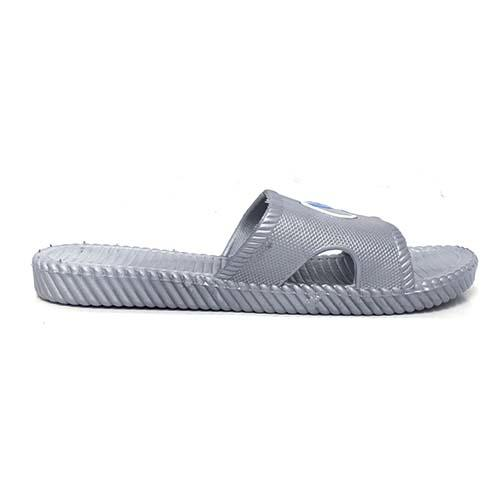 PVC Women Slipper (P 00244-GY) Grey