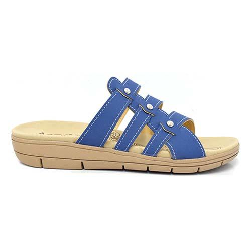 AZER - LADIES FLAT SANDALS (76-14172 B) BLUE