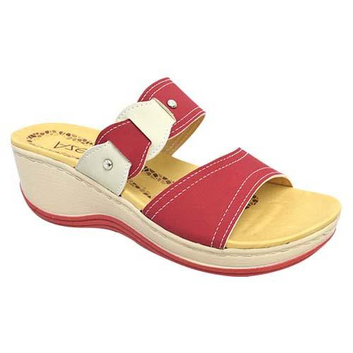 AZER - LADY COMFORT WALK SHOE (76-13177 R) RED