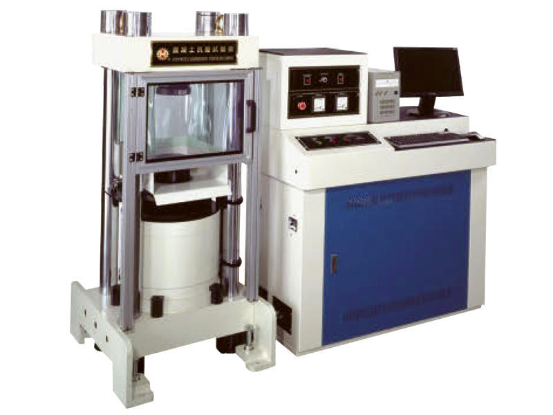 HT-8391 Computer-Controlled Servo Hydraulic Concrete Compression Testing Machines