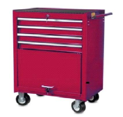 4-drawer trolley