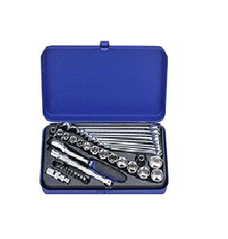 38 PCS 3/8'' Dr. Socket & Combination Wrench Set