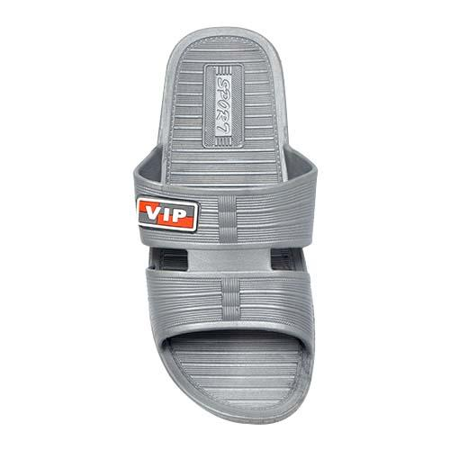 MEN PVC SLIPPER (P 361-GY) GREY