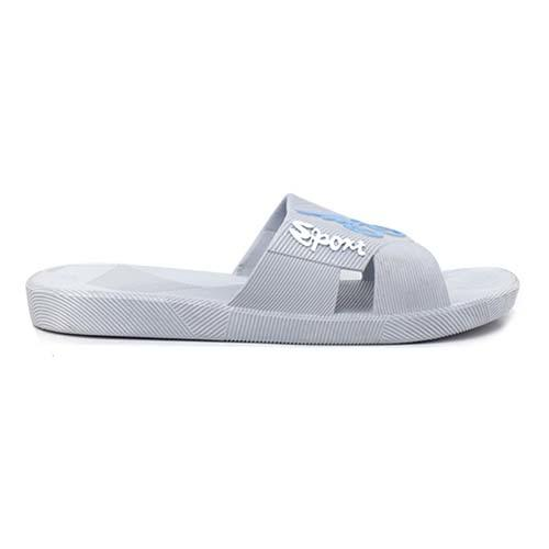MEN PVC SLIPPER (P A109-GY) GREY
